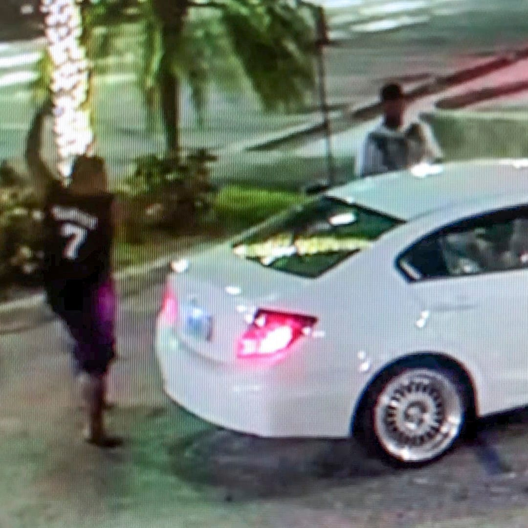 Surveillance video shows attack on couple at Tamuning Mobil Mart