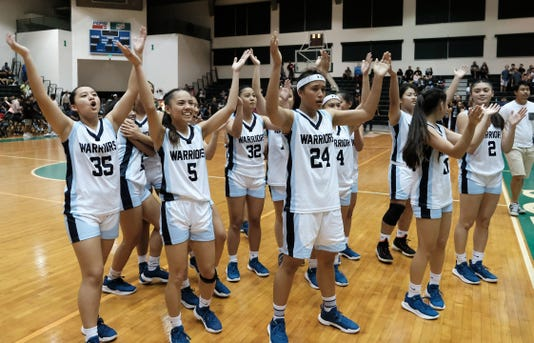 IIAAG Girls Basketball Championship 19