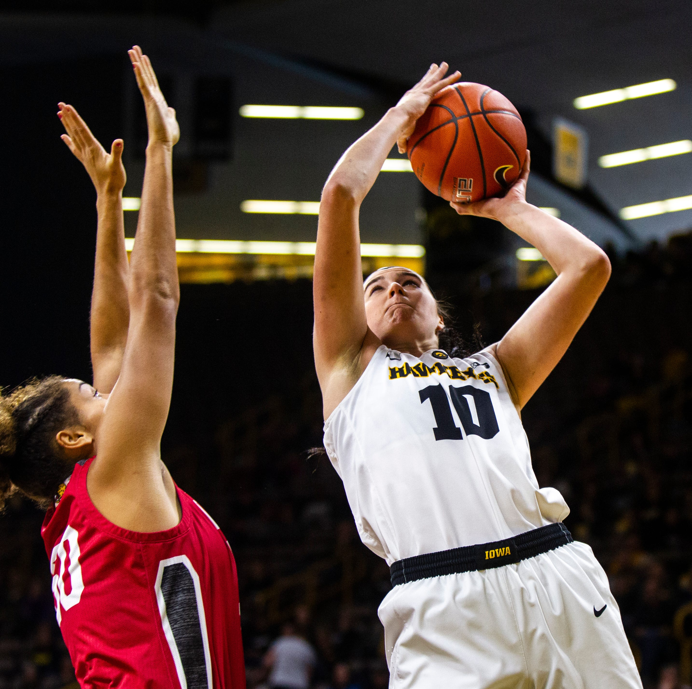 Iowa women's basketball: Megan Gustafson, No. 16 Hawkeyes grind past IUPUI