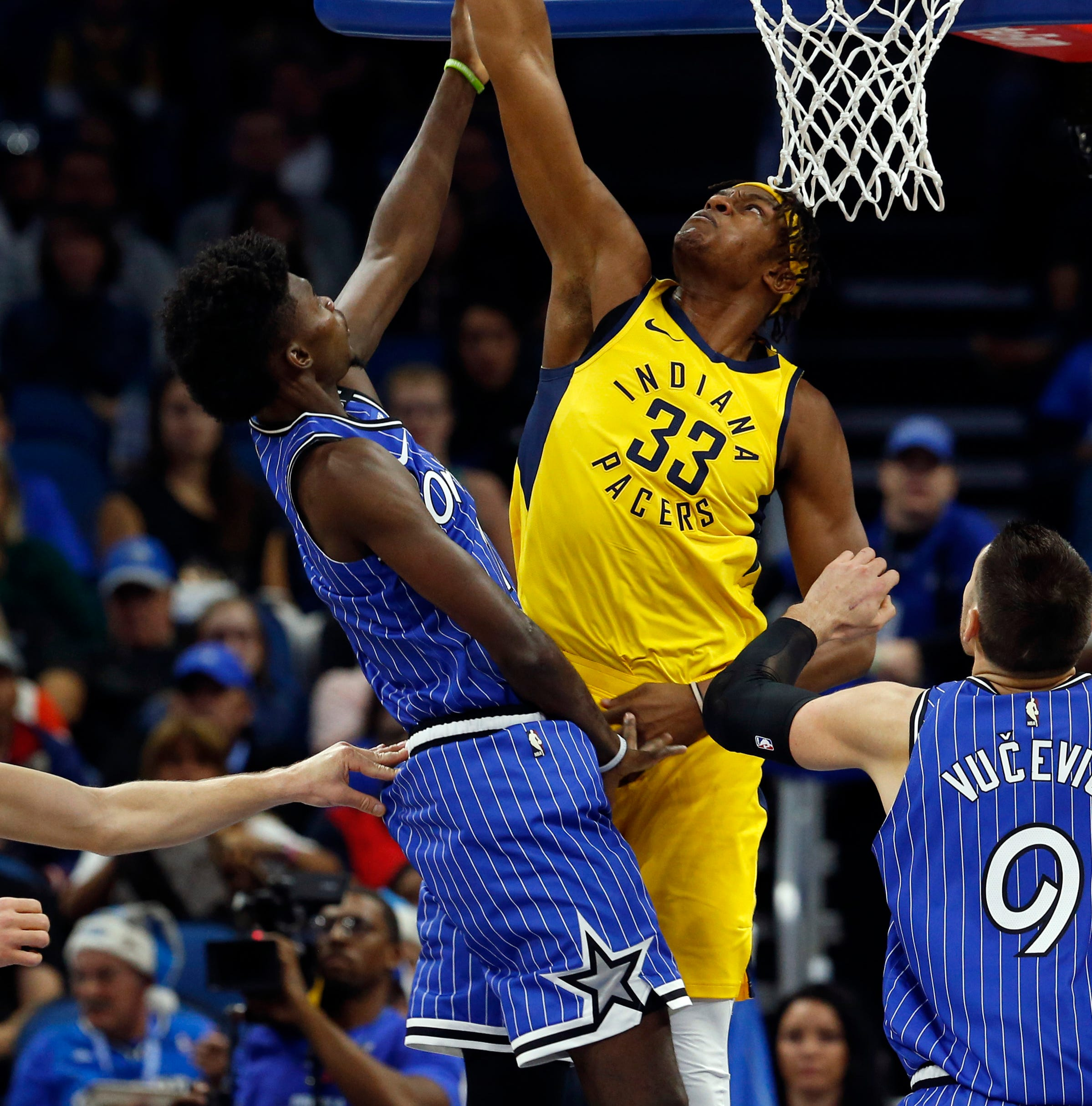 Insider: Look no further than center Myles Turner to explain Pacers' suffocating defense