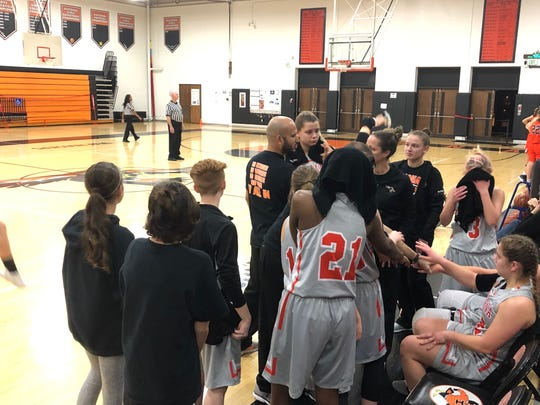 Indiana Deaf's girls basketball team has started the season 8-0.