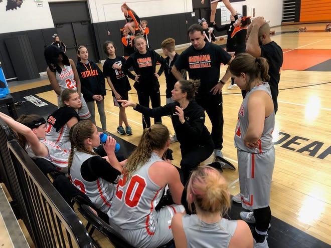 The Indiana Deaf girls basketball team has started the season 8-0.