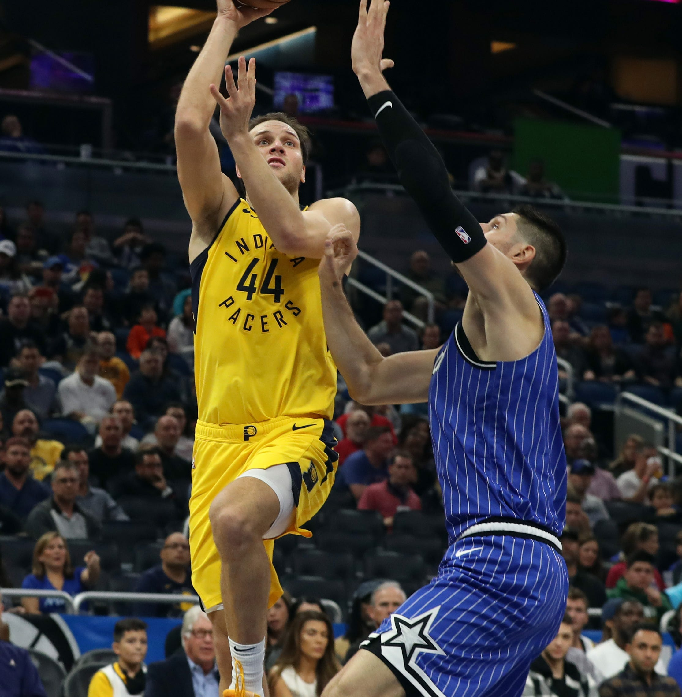 Ailing Pacers lean on Bojan Bogdanovic, Kyle O'Quinn to blow out Magic