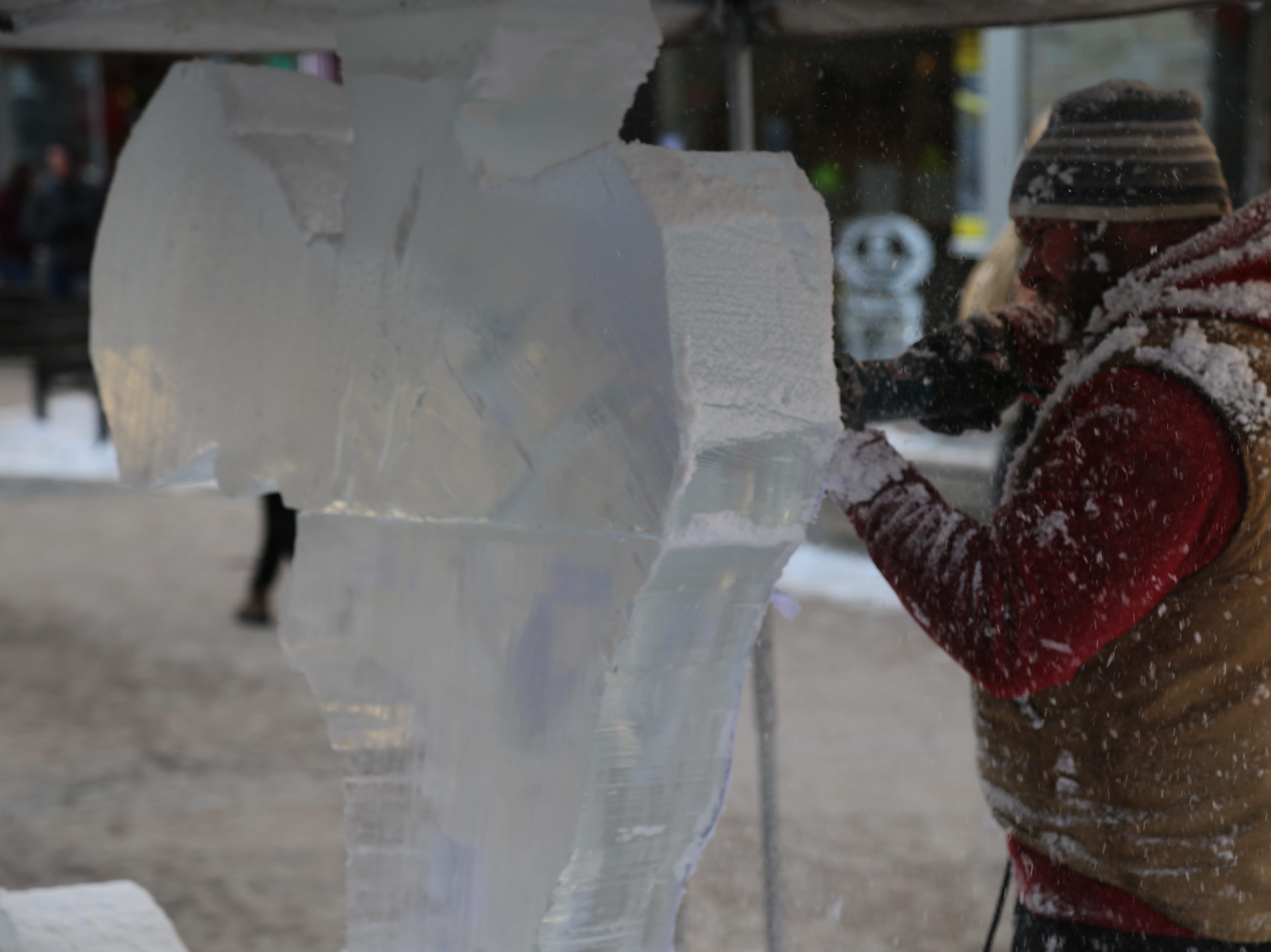 The Ithaca Ice Festival ice carving competition is a National Ice Carving Association sanctioned event.