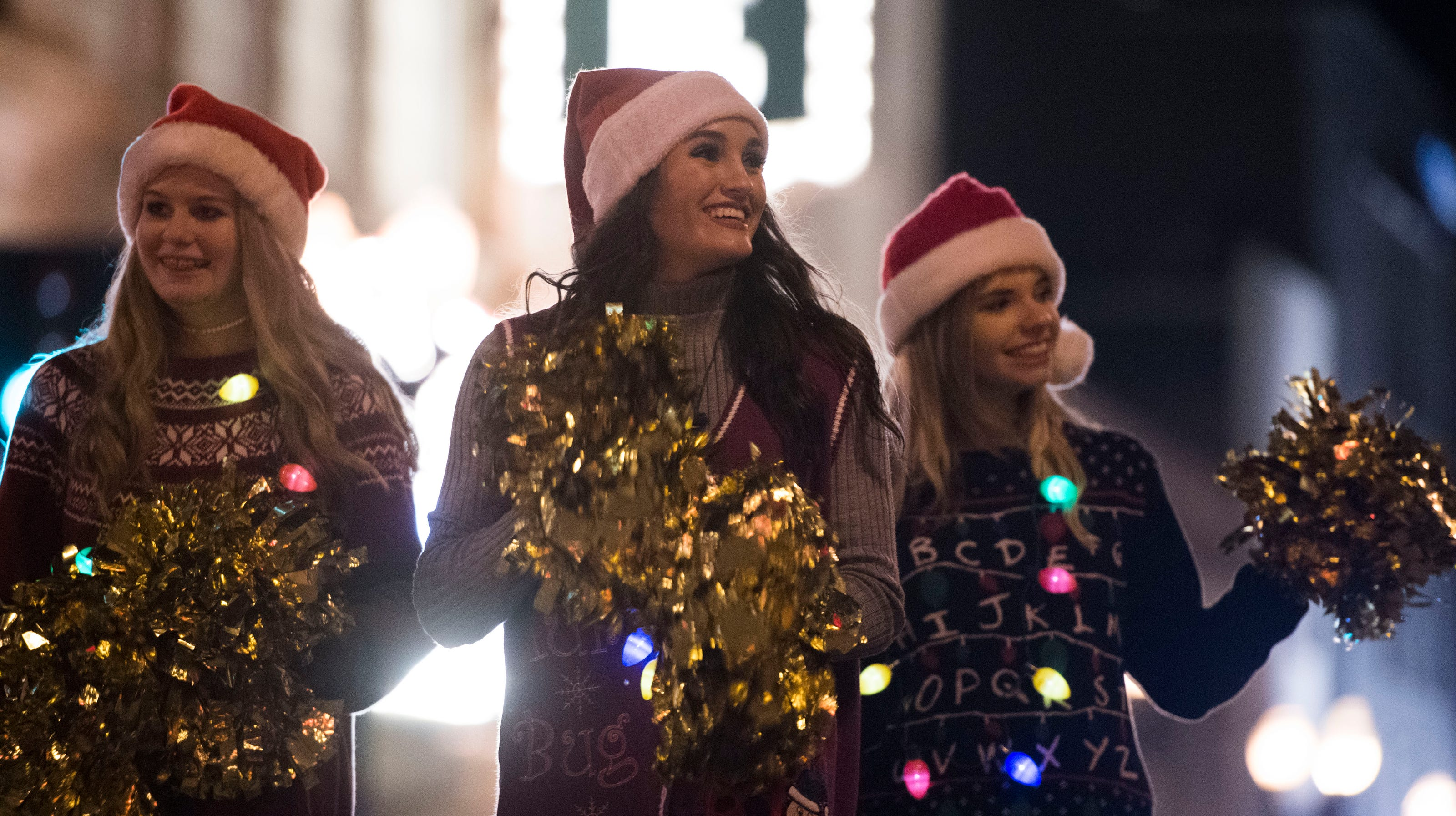 Seating Gatlinburg Christmas Parade 2021