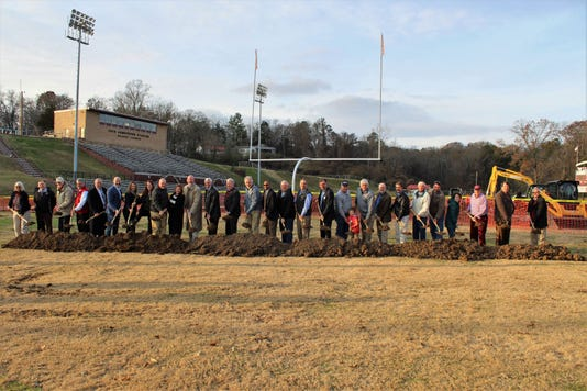 Blankenship Field Groundbreaking Group