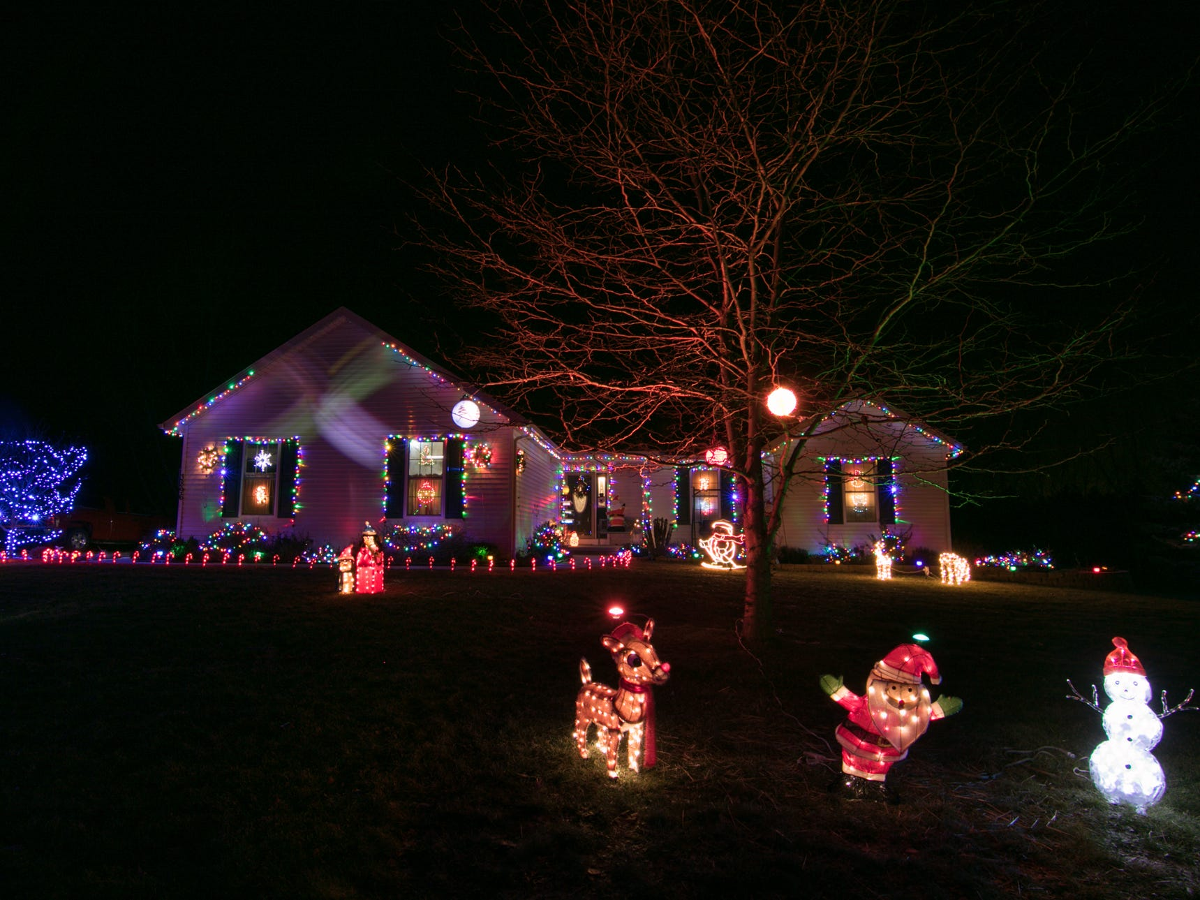 3896 Beckley Dr., Oceola Twp., the home of Carrie Holder and Mike Young shown Thursday, Dec. 6, 2018. Vote on your favorite home by emailing gbenedict@livingstondaily.com by midnight of Jan. 2, 2019.