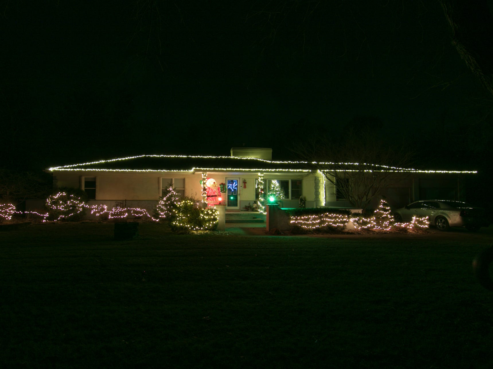 8730 Bishop Rd., Brighton, the home of Andrew Schwab, shown Tuesday, Dec. 4, 2018. Vote on your favorite home by emailing gbenedict@livingstondaily.com by midnight of Jan. 2, 2019.