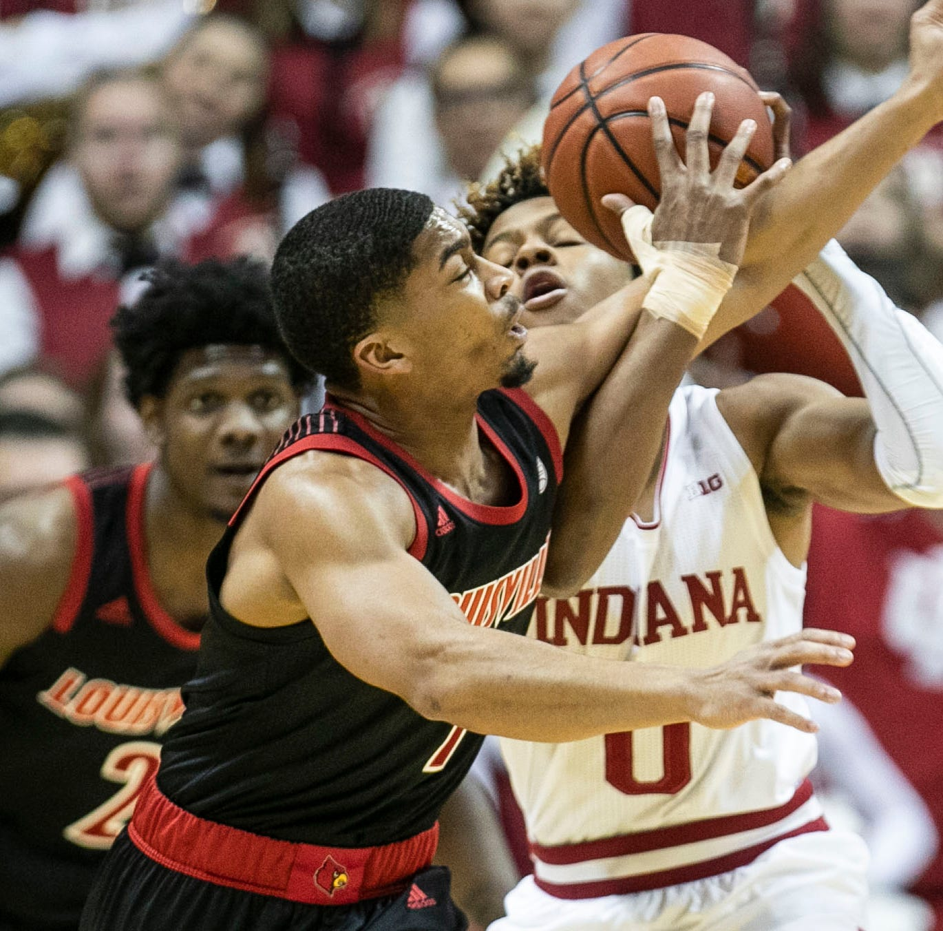 Louisville basketball searches for lessons from loss at Indiana