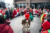 SantaCon is an annual convention in Louisville