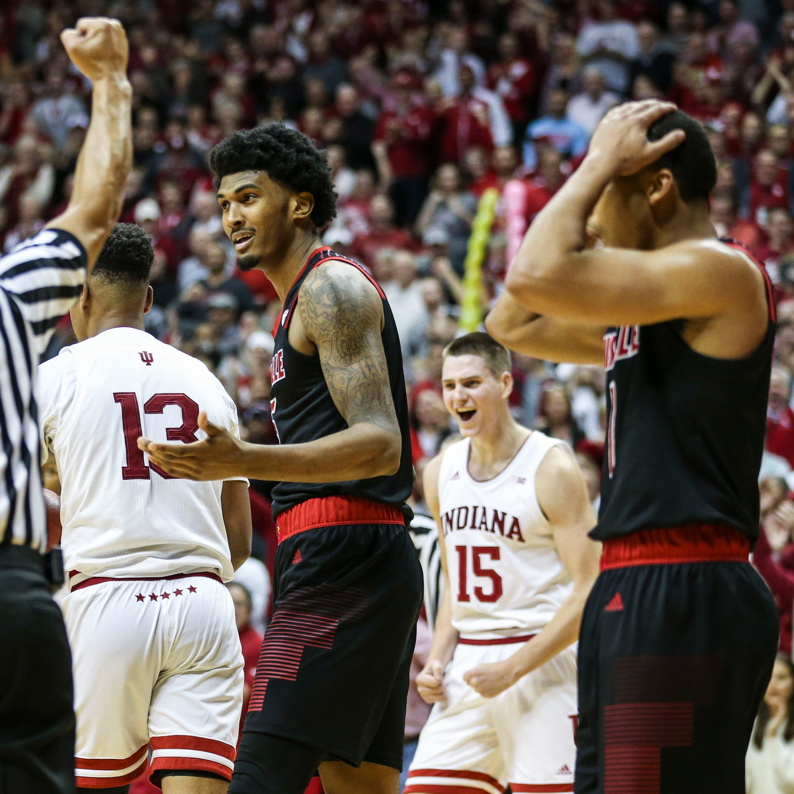 Takeaways from Louisville basketball's disappointing loss at Indiana