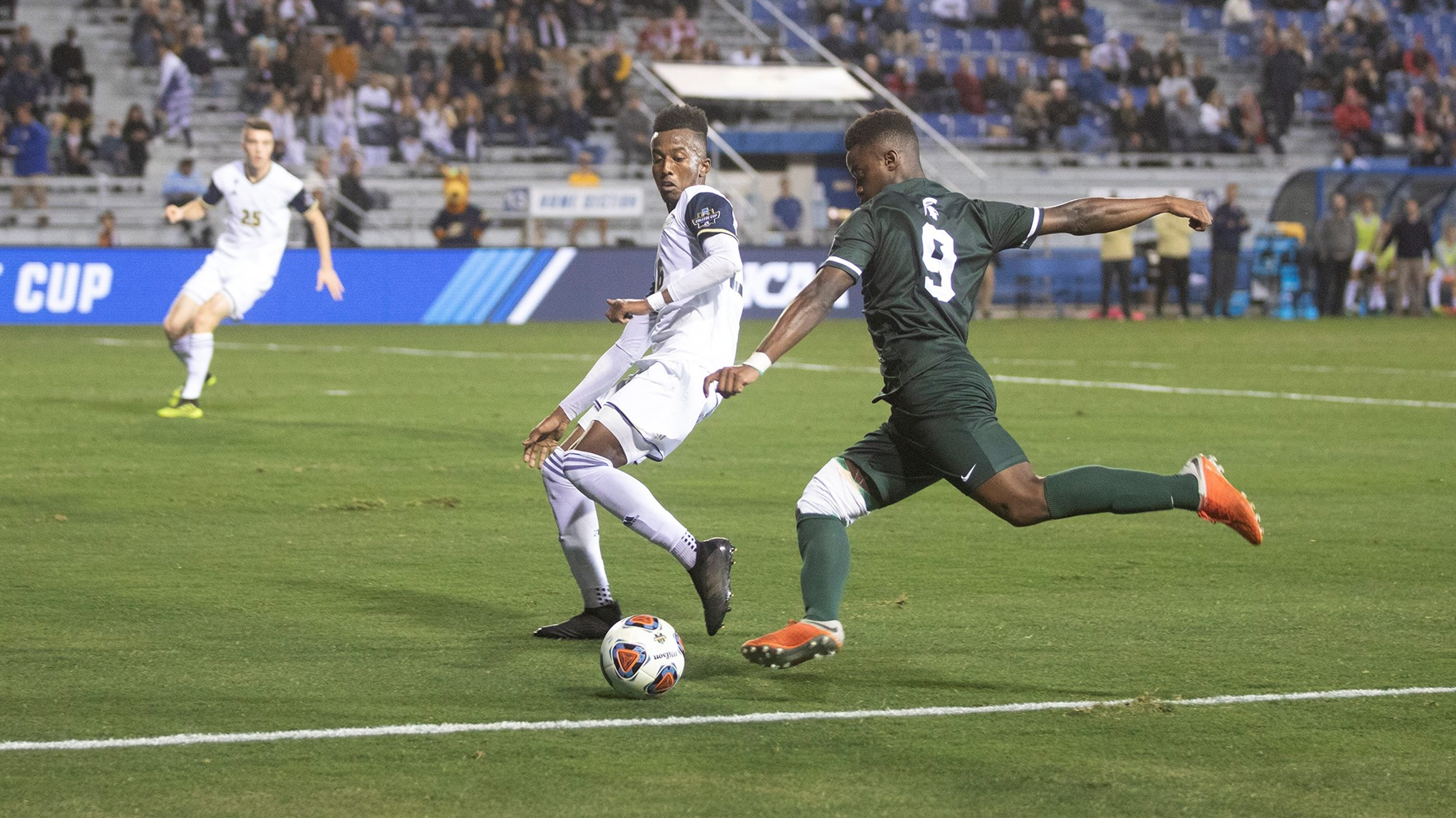 Michigan State soccer outplayed by Akron in College Cup ...