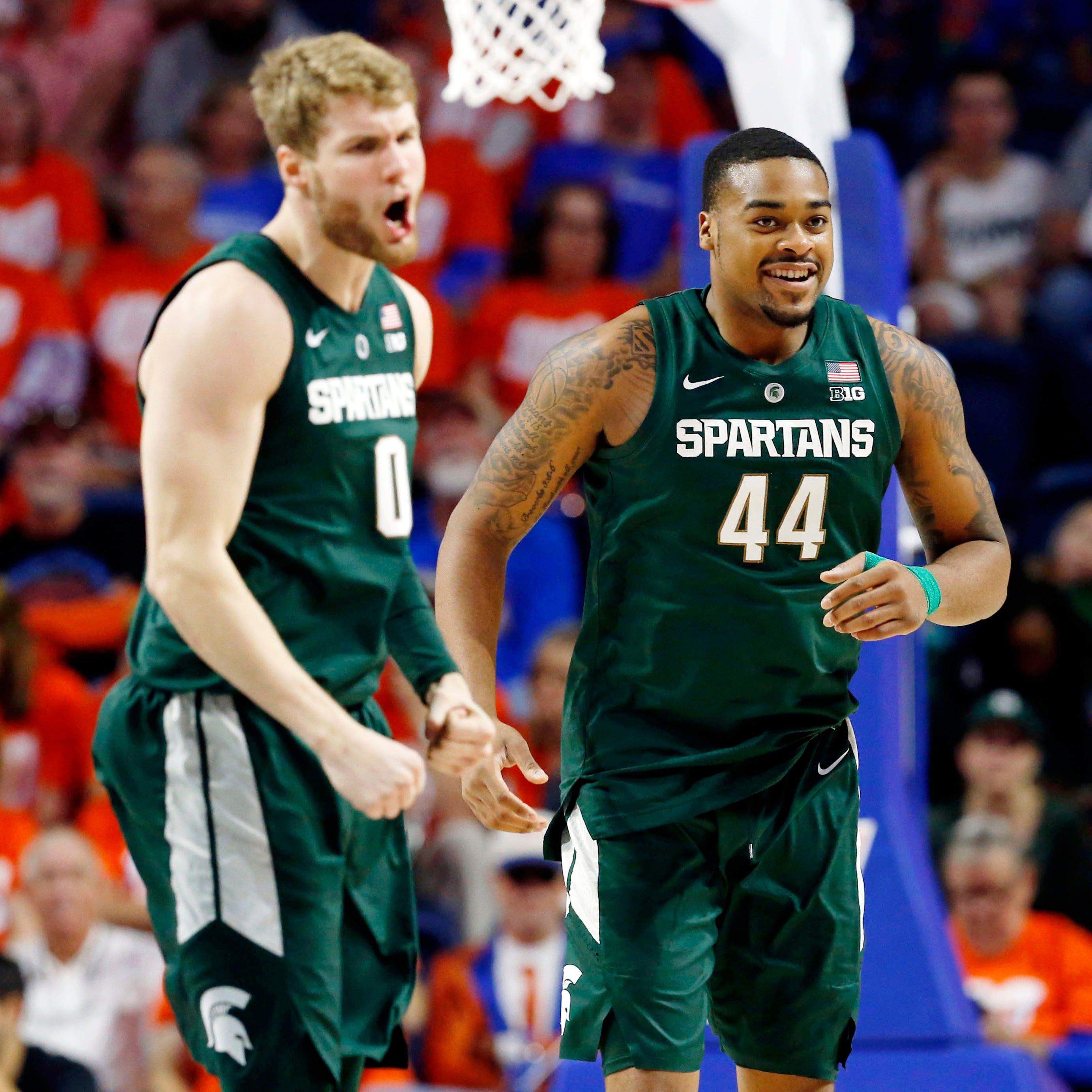 Michigan State basketball without Kyle Ahrens, Nick Ward against Nebraska