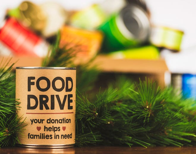 Please support our food drive. Holiday canned food drive