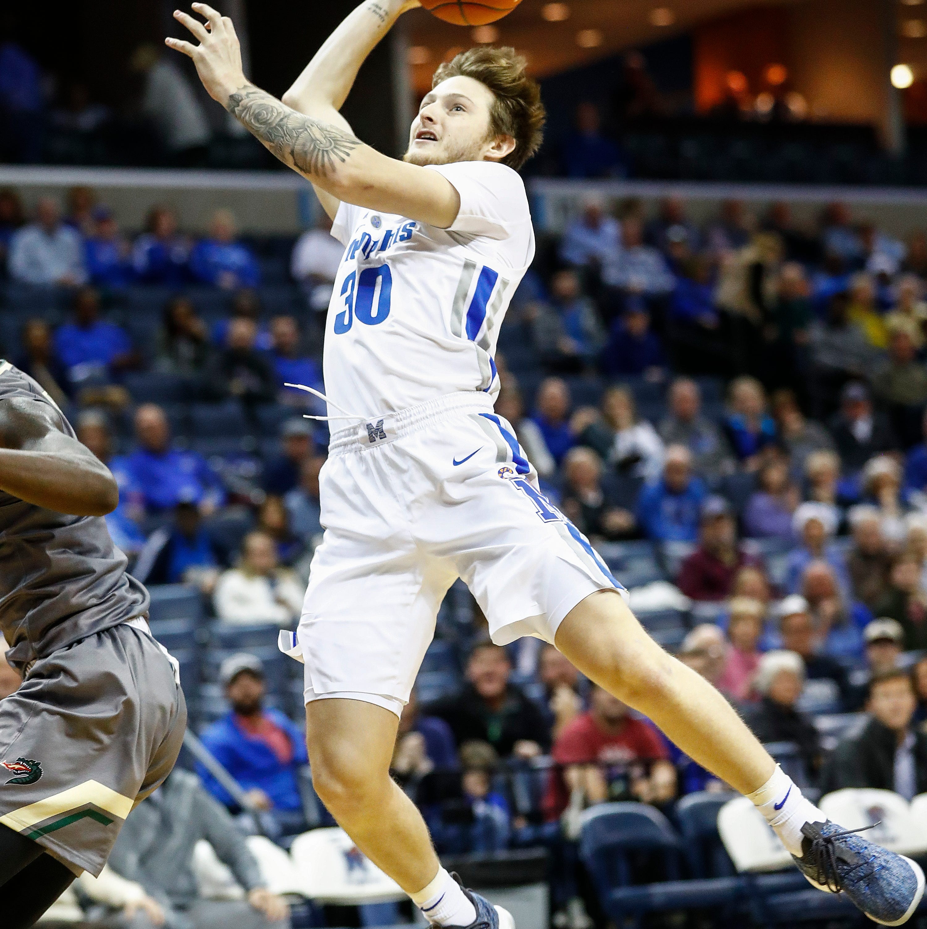 Memphis basketball walk-on Evin Olds will not return to program