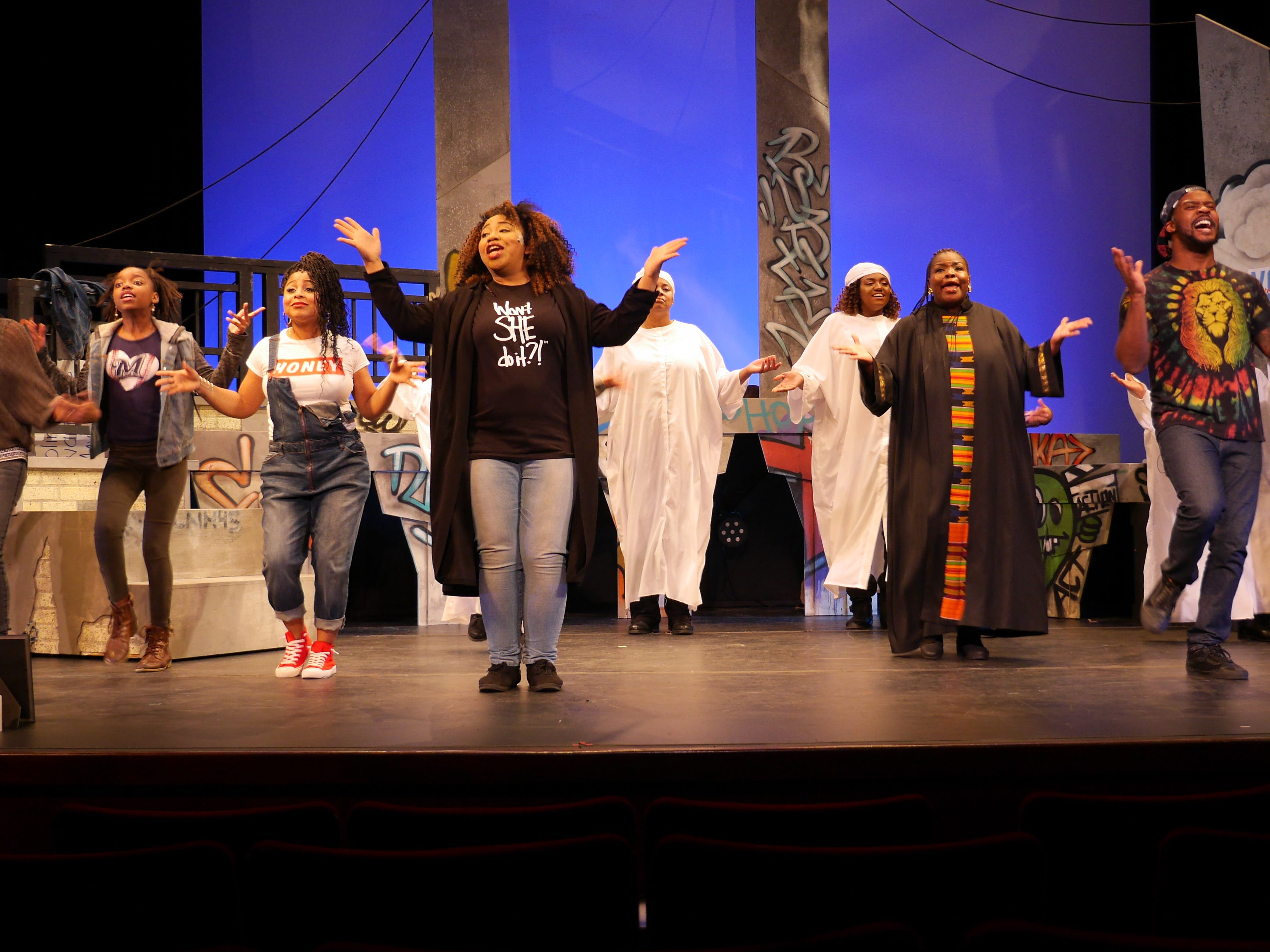 """Black Nativity,"" performed by Bronzeville Arts Ensemble, connects the birth of Jesus with life in Milwaukee today."