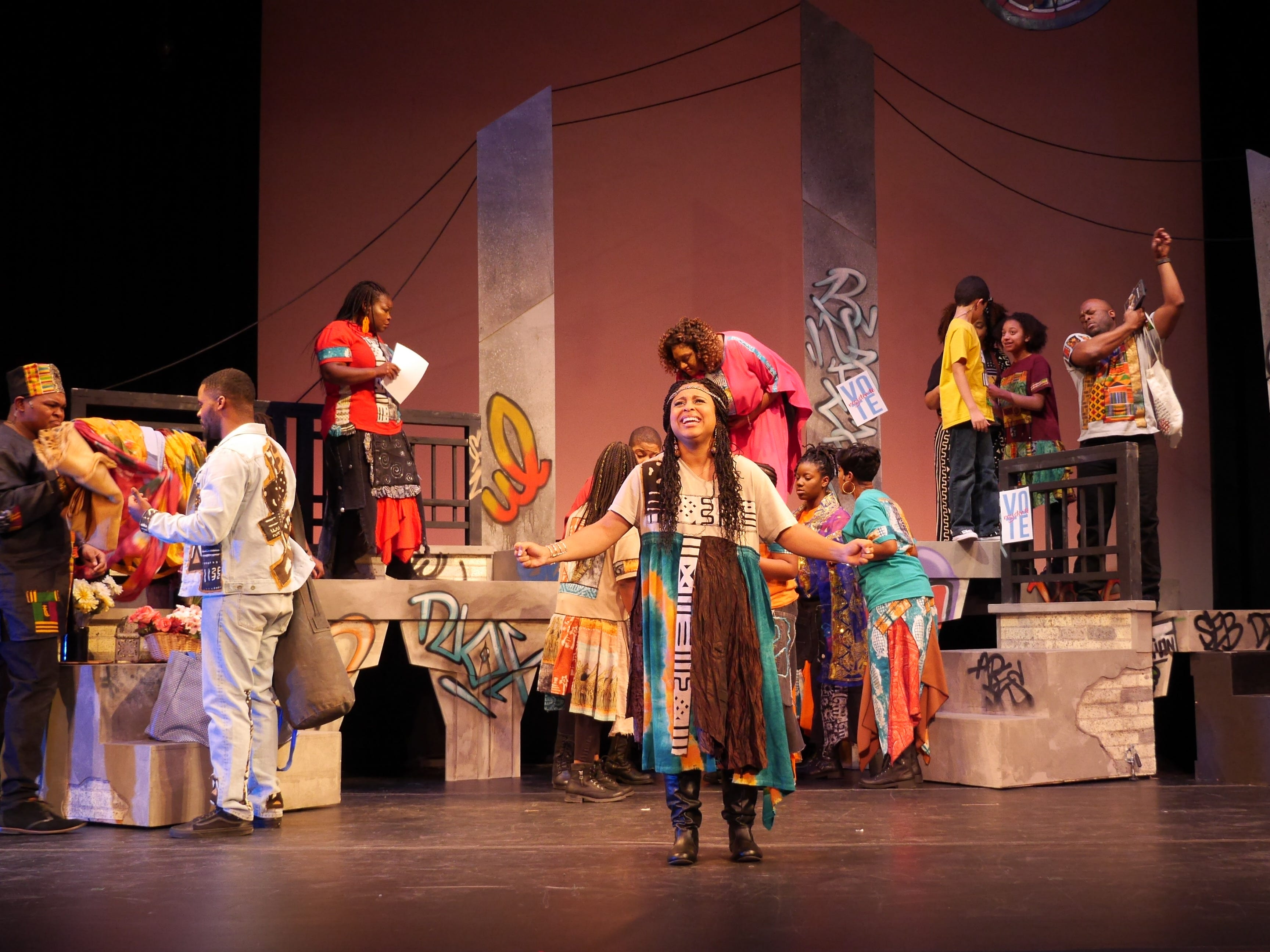 """Black Nativity,"" performed by Bronzeville Arts Ensemble, retells the story of the birth of Jesus."