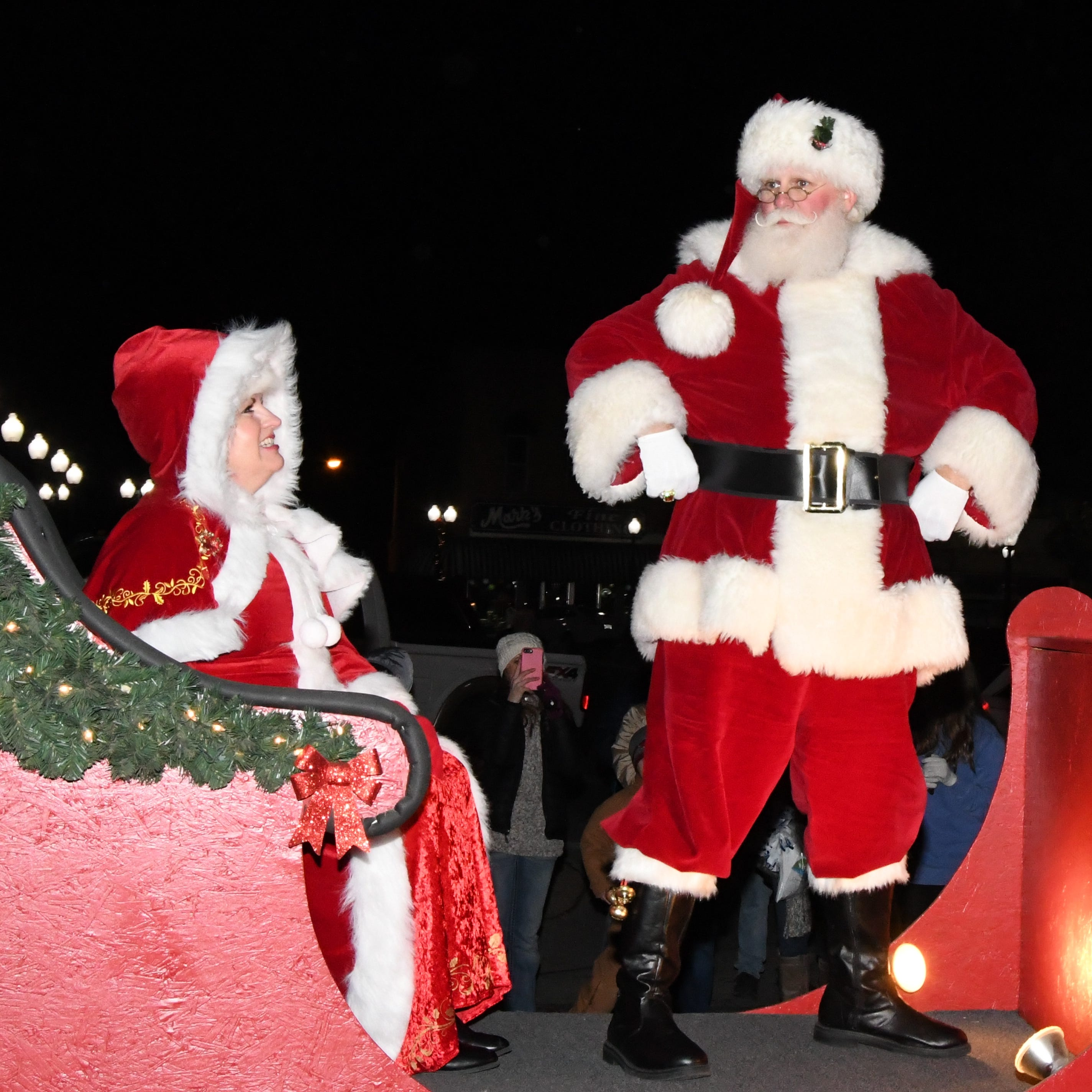 Chamber's Christmas Parade is a big success