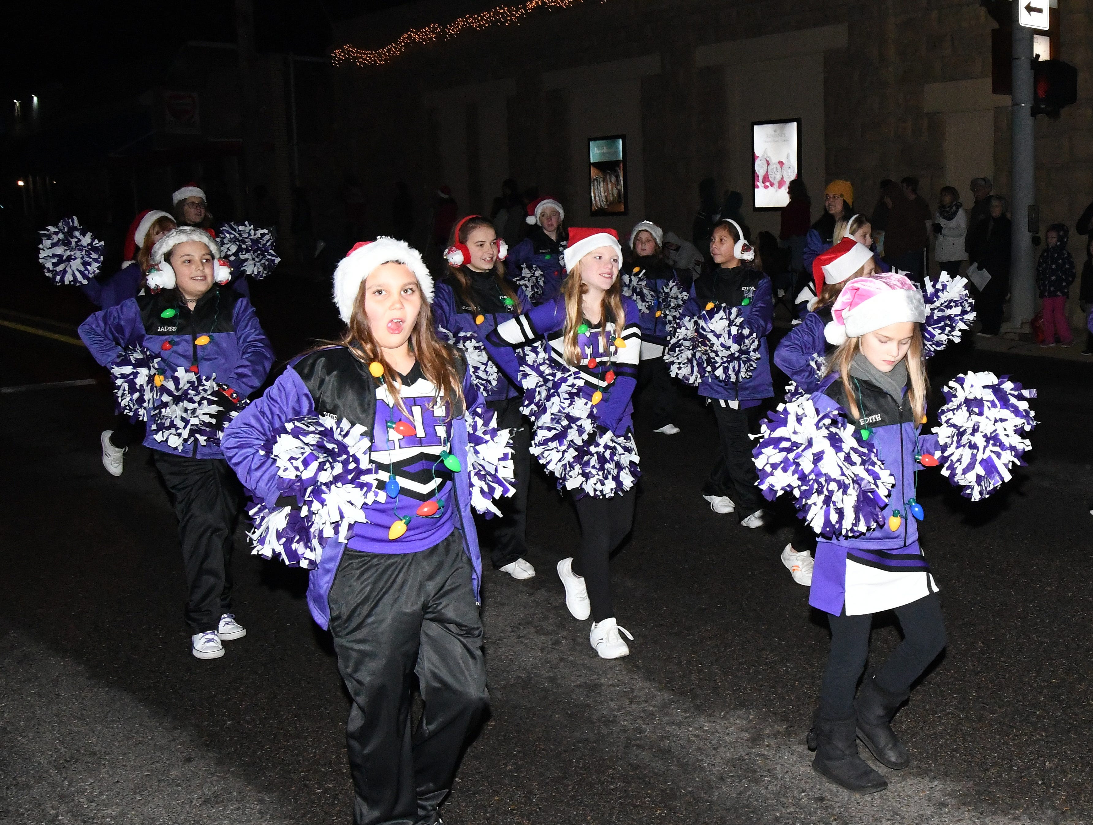 Scenes from the Mountain Home Chamber of Commerce Christmas Parade and Myrtle Wood Chamberlain Tree Lighting Ceremony.