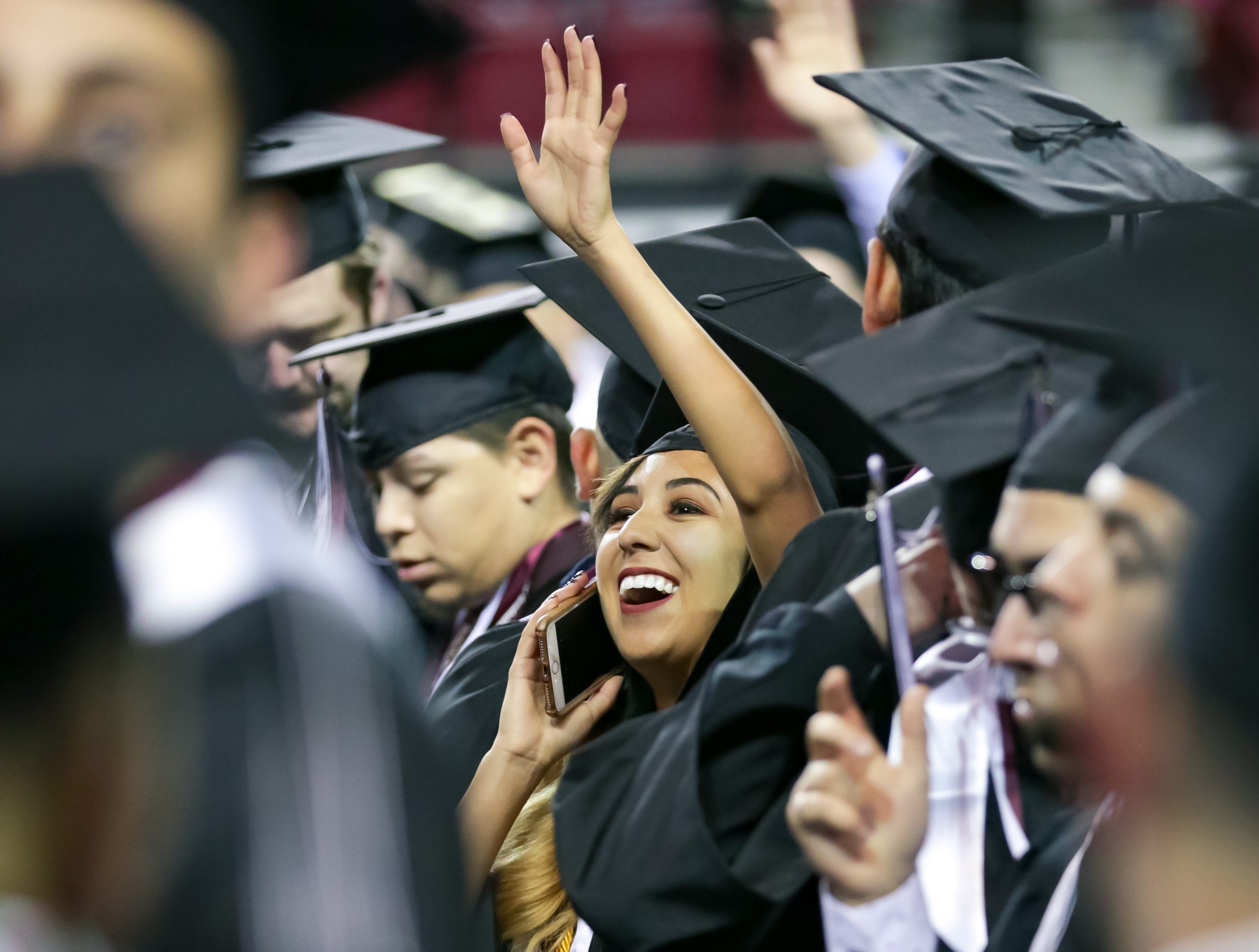 More than 1,200 awarded degrees at NMSU fall commencement