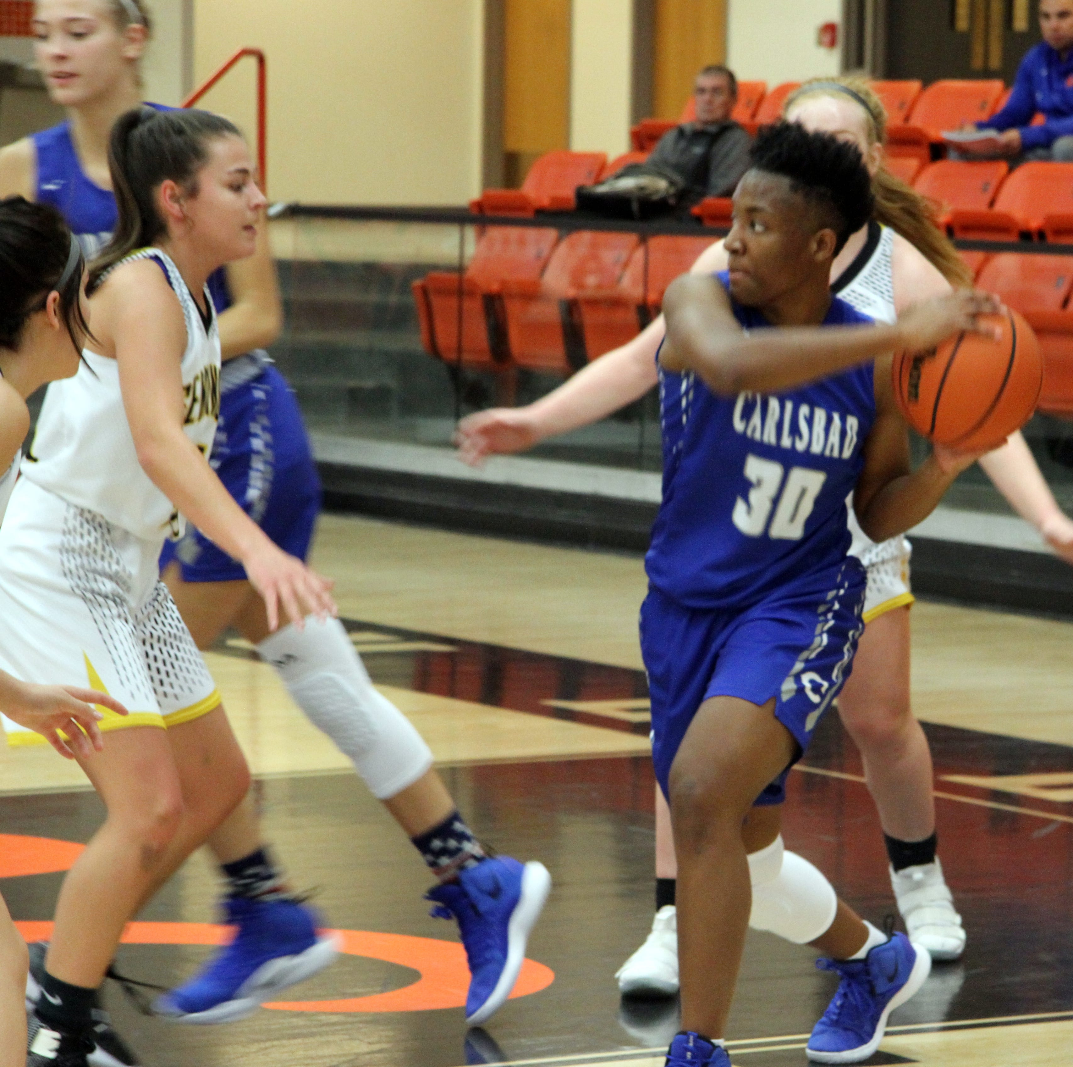 Cavegirls go cold in final quarter vs. Seminole