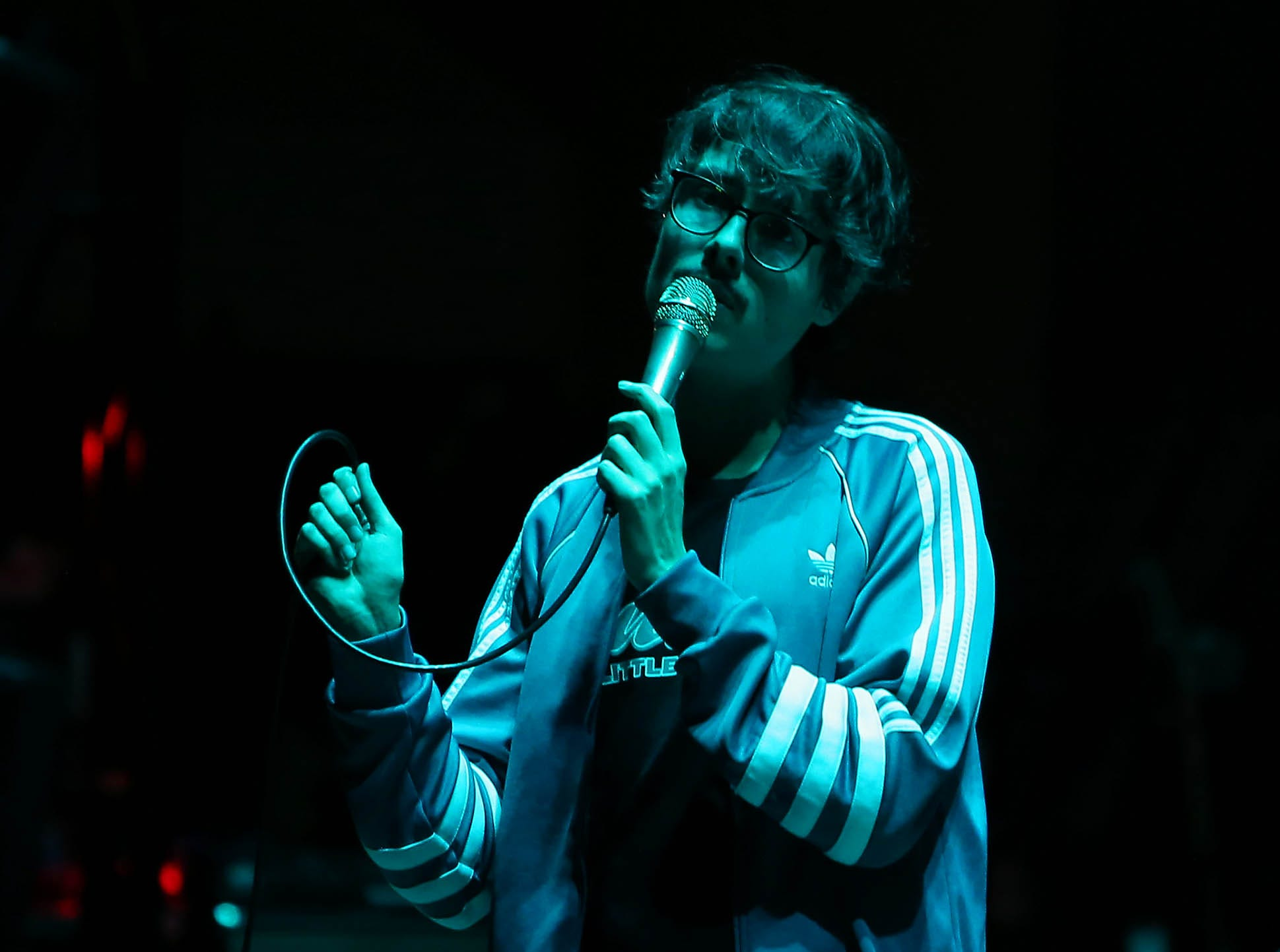 Joywave perform as they open for the Smashing Pumpkins at Mesa Amphitheatre in Mesa on Friday, Dec. 7, 2018.