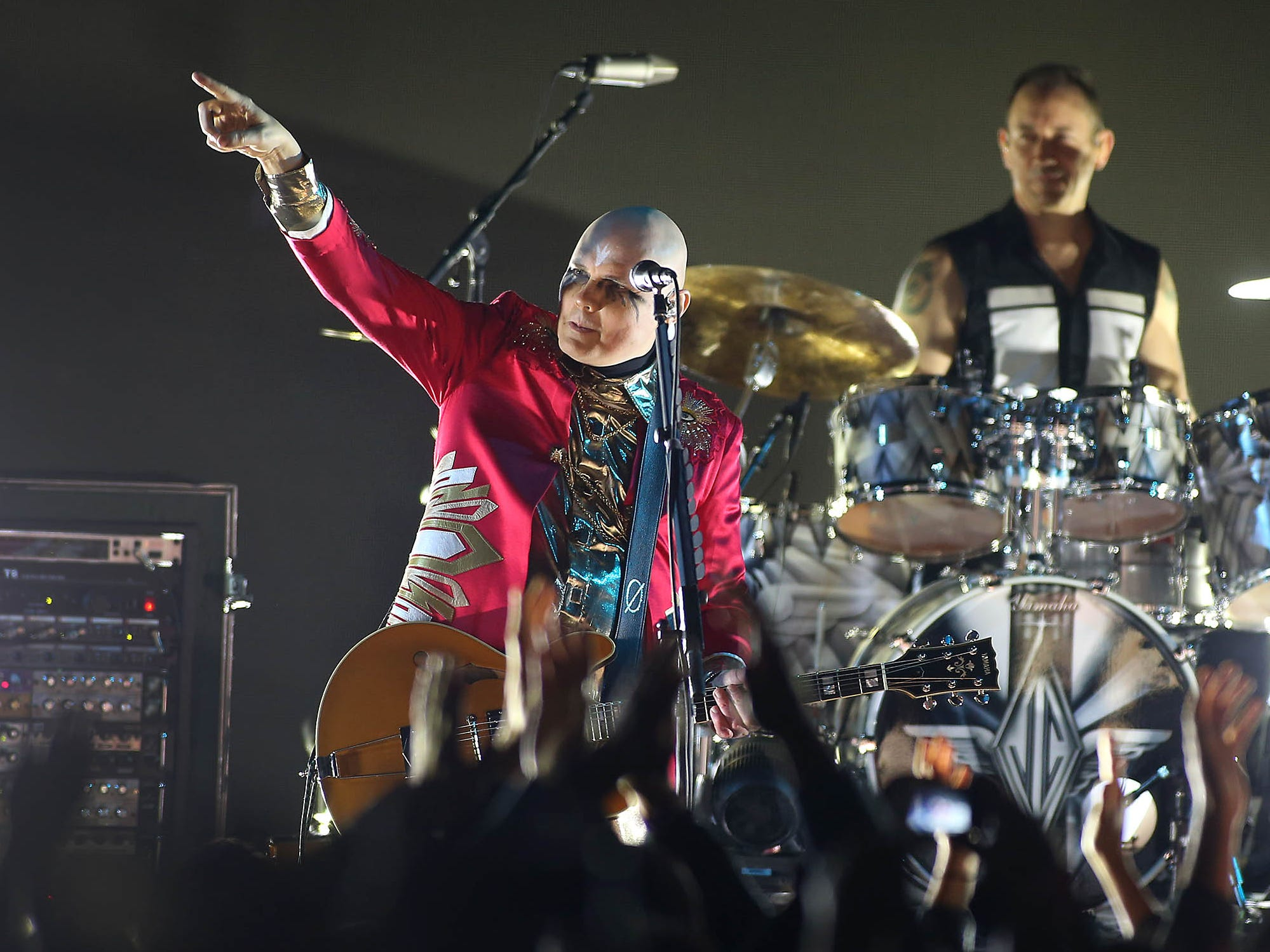 Smashing Pumpkins perform at Mesa Amphitheatre in Mesa on Friday, Dec. 7, 2018.