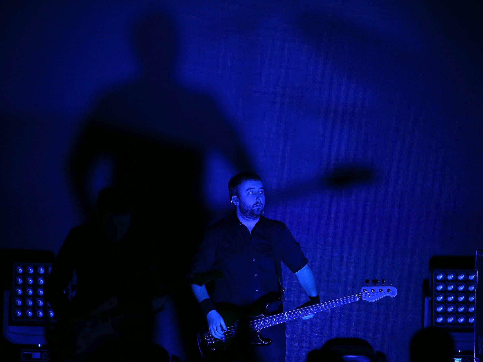 Smashing Pumpkins perform at Mesa Amphitheatre in Mesa on Friday, Dec. 7, 2018.