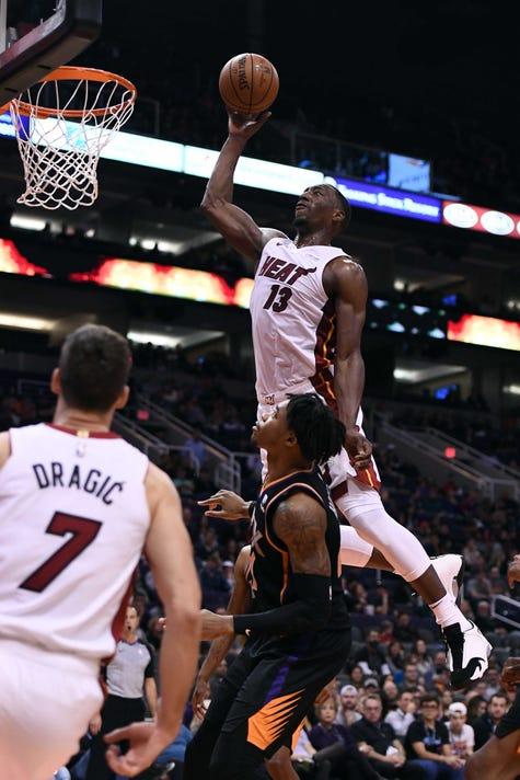 Nba Miami Heat At Phoenix Suns
