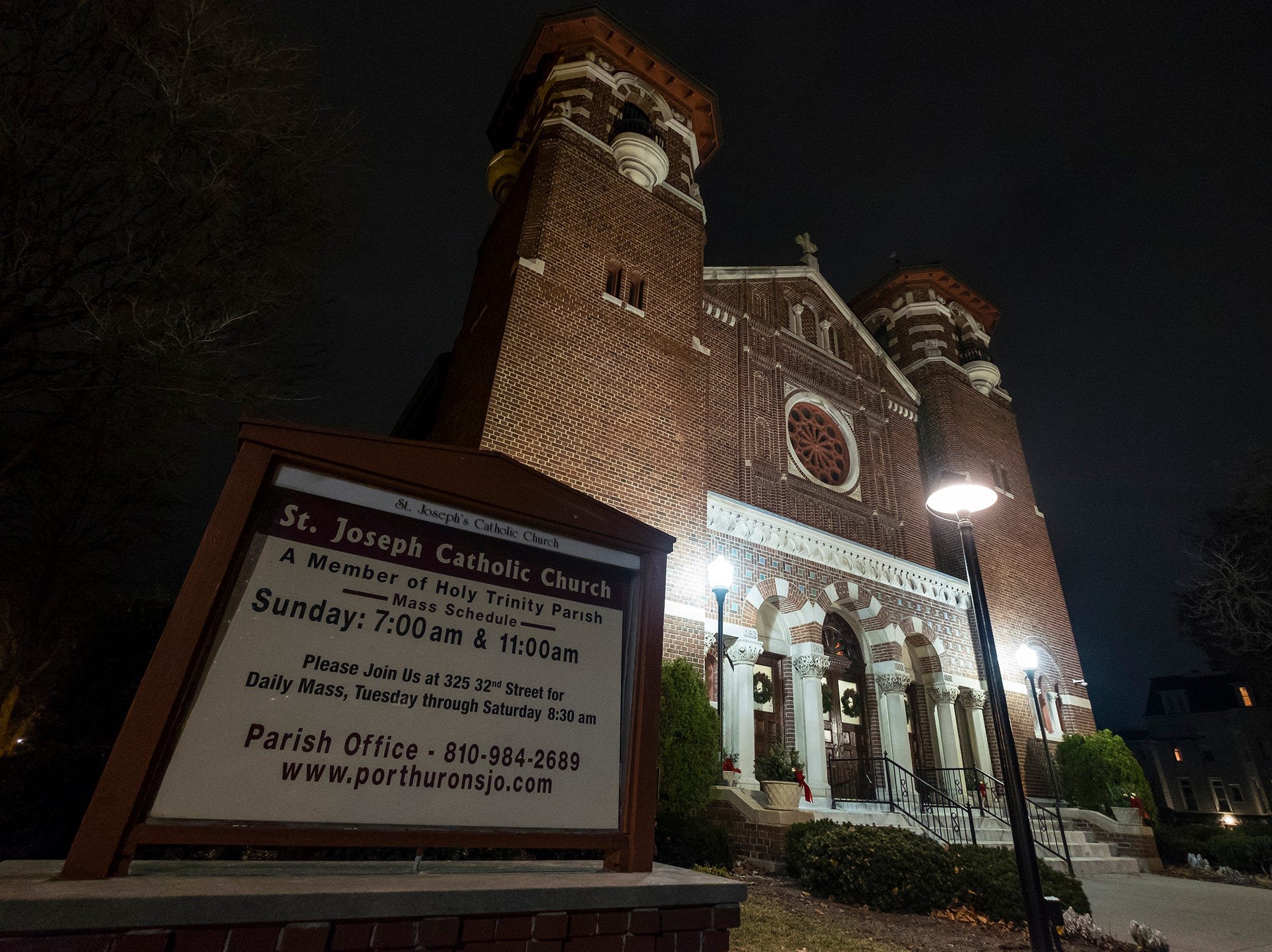 The annual Advent concert was held Friday, Dec. 7, 2018 at St. Joseph Catholic Church in Port Huron. Holy Trinity Parish is taking the first steps toward closing the church, which was built between 1922 and 1923.
