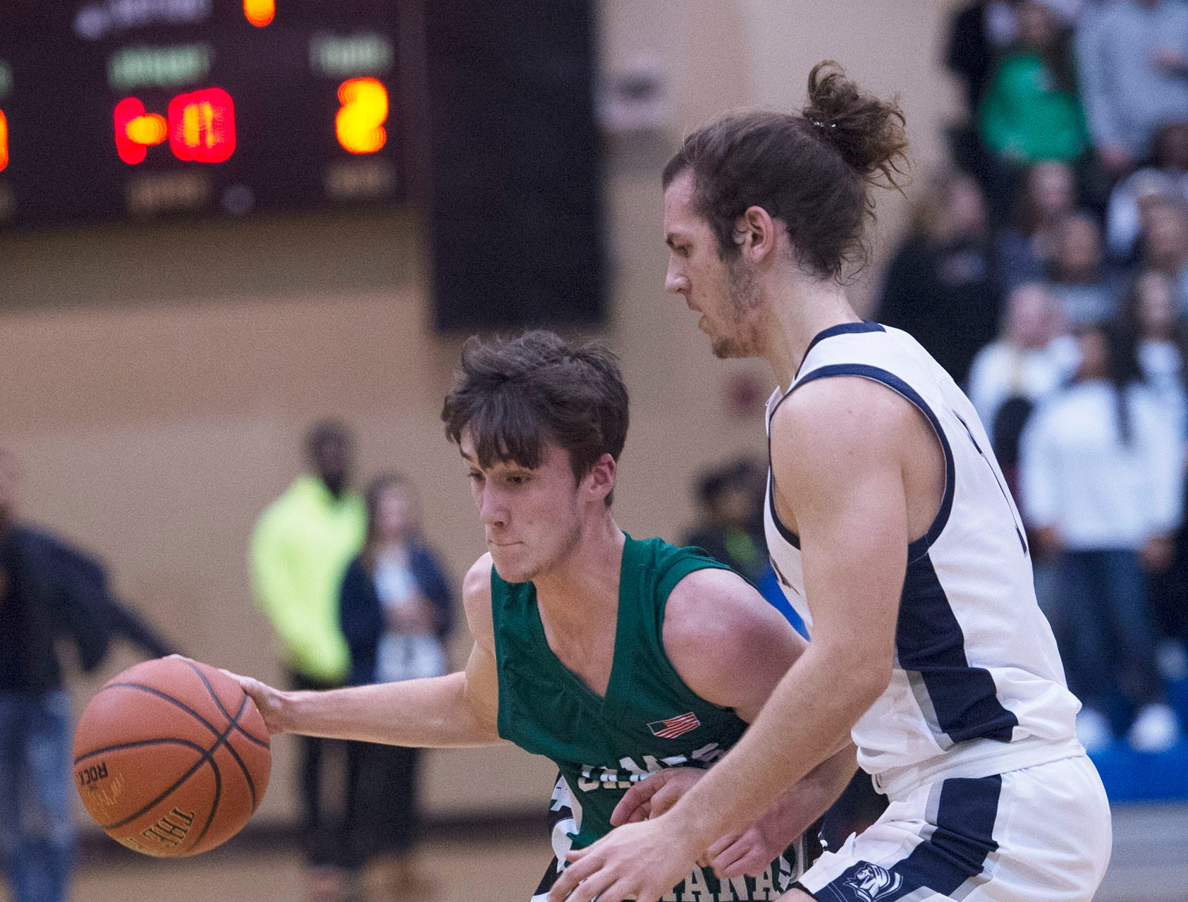 Chambersburg played James Buchanan boys during the Franklin County Tip-Off Tournament, Friday, Dec. 7, 2018.