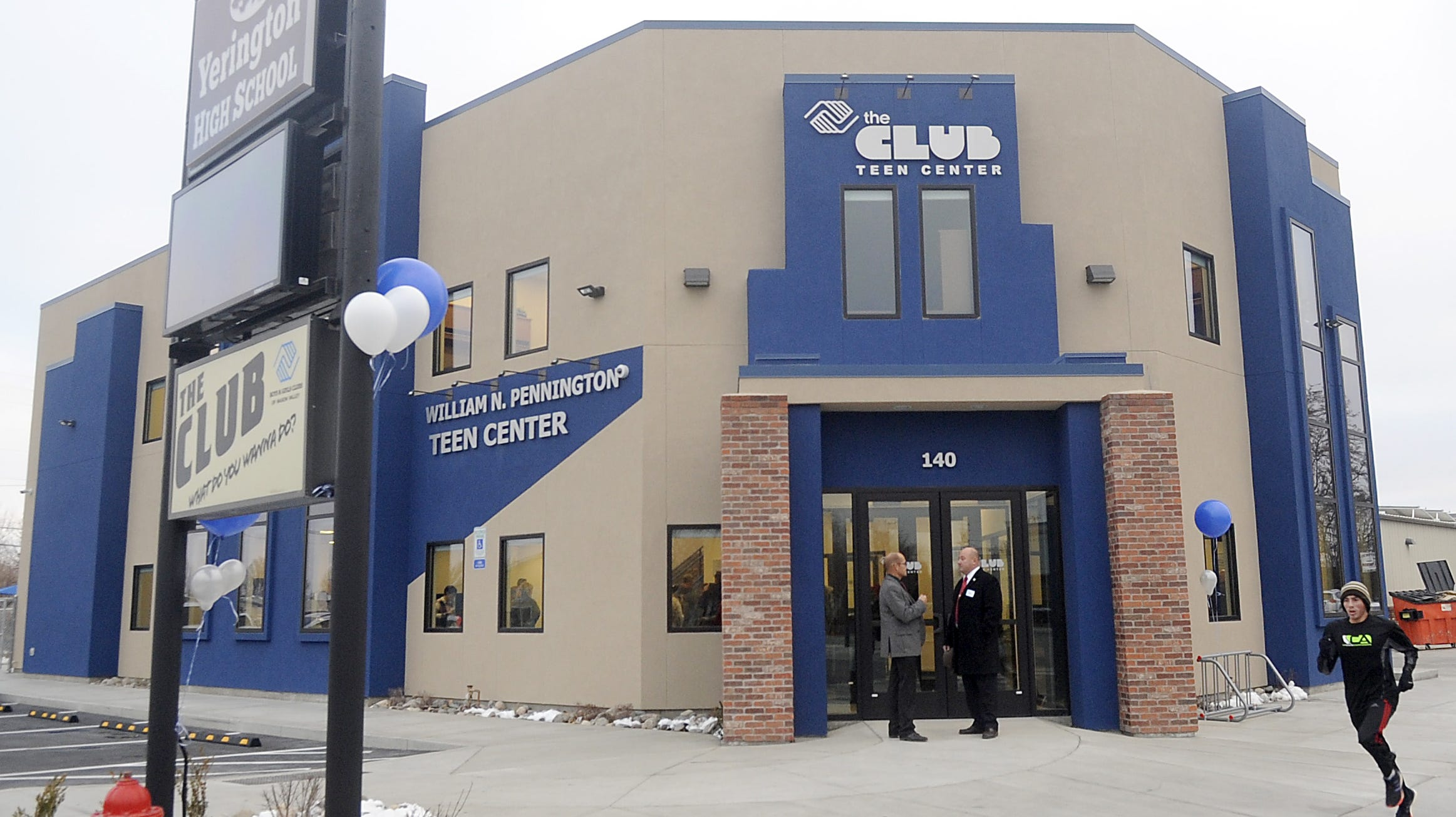 An opening ceremony for the Mason Valley Boys and Girls Clubs' Teen Center was held Friday.