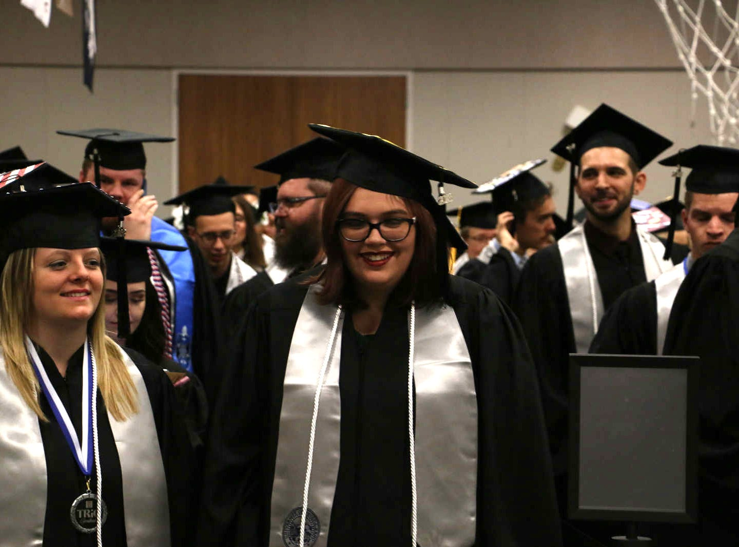 The December Commencement ceremonies at the University of Nevada, Reno on Dec. 8, 2018.