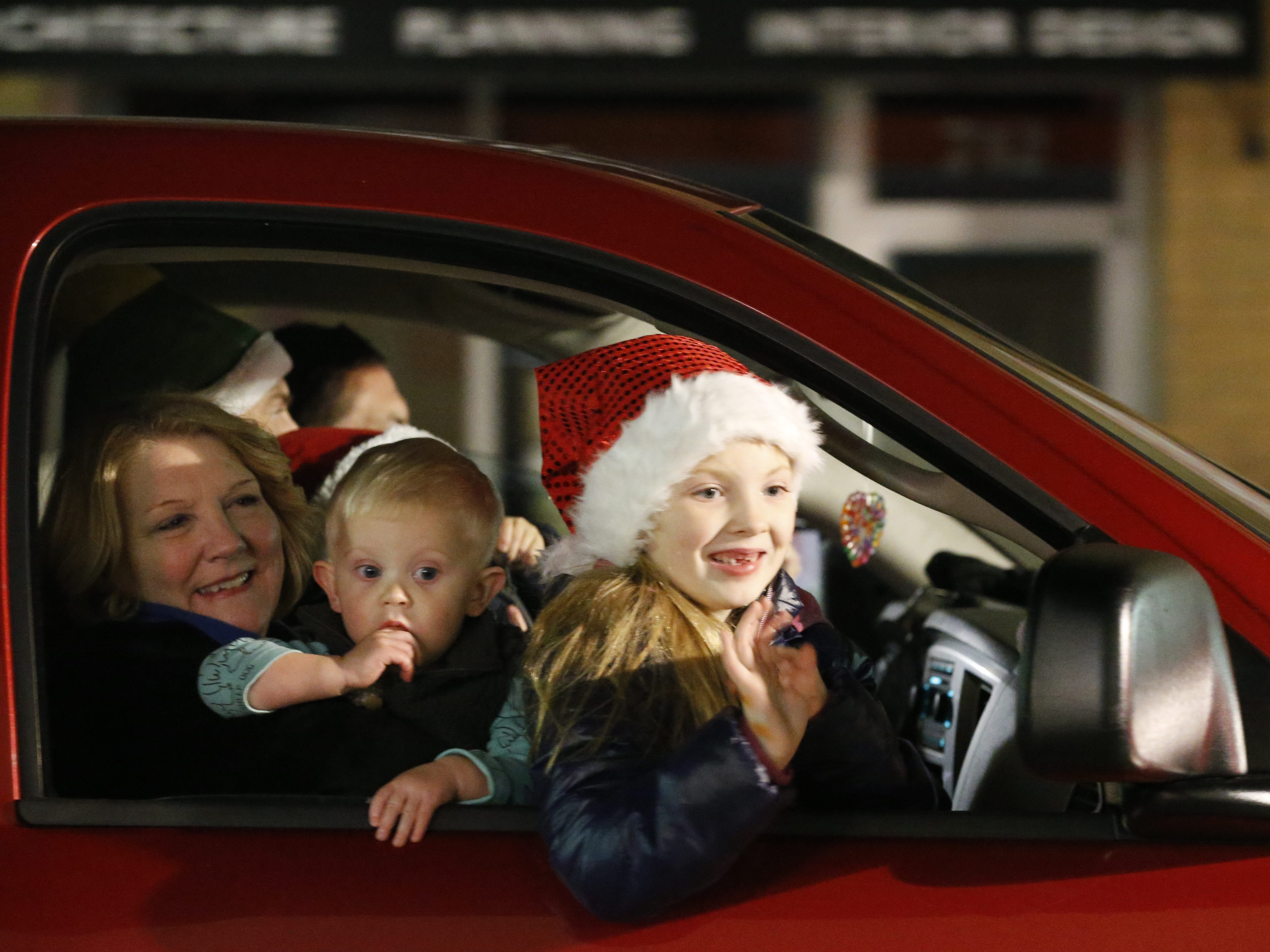 Richmond's annual Holiday Parade took place on Friday, Dec. 7, 2018, along East Main Street through the downtown area.