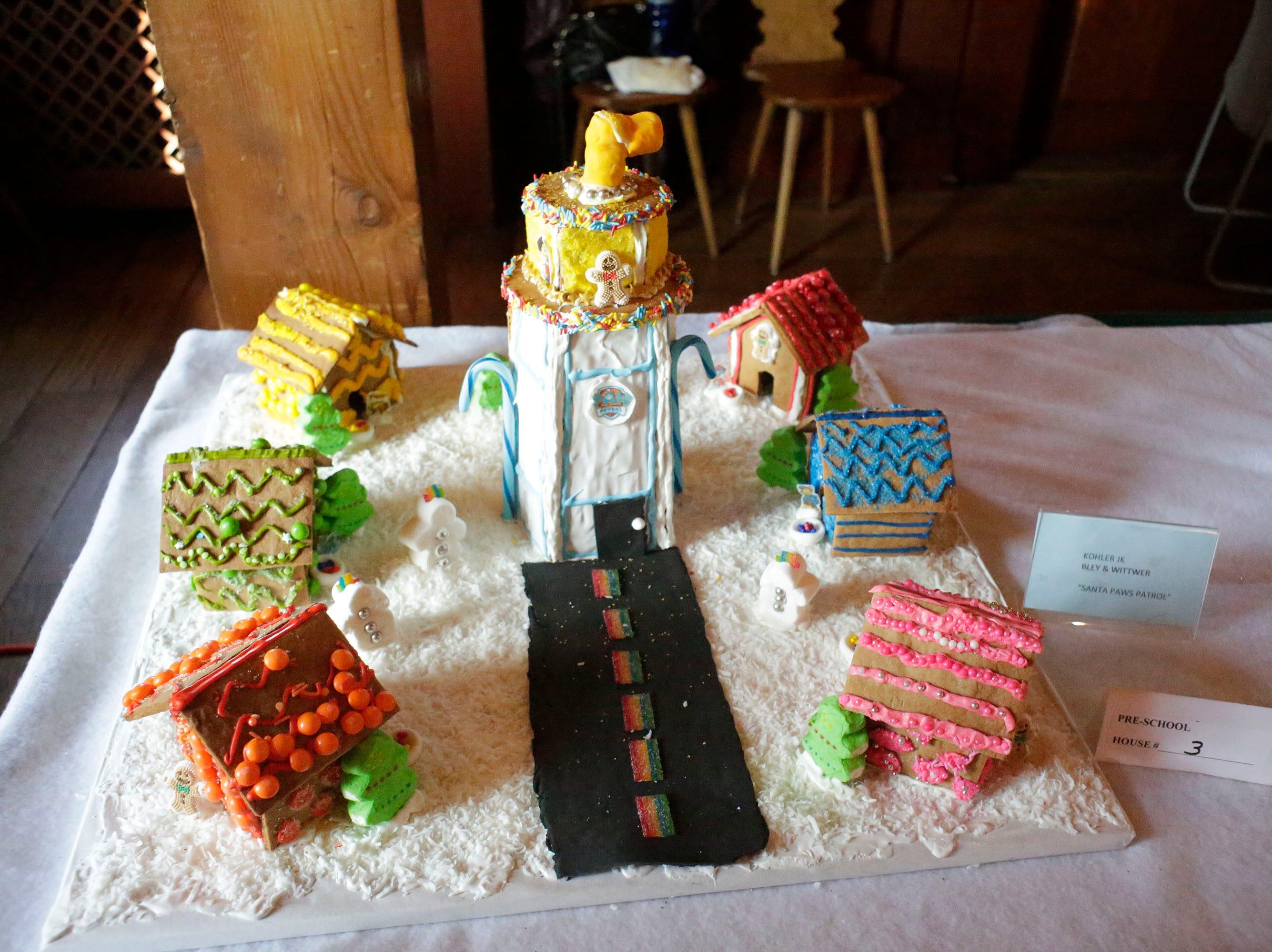 Santa Paws Patro at the annual Waelderhaus Gingerbread Festival, Saturday, December 8, 2018, in Kohler, Wis.