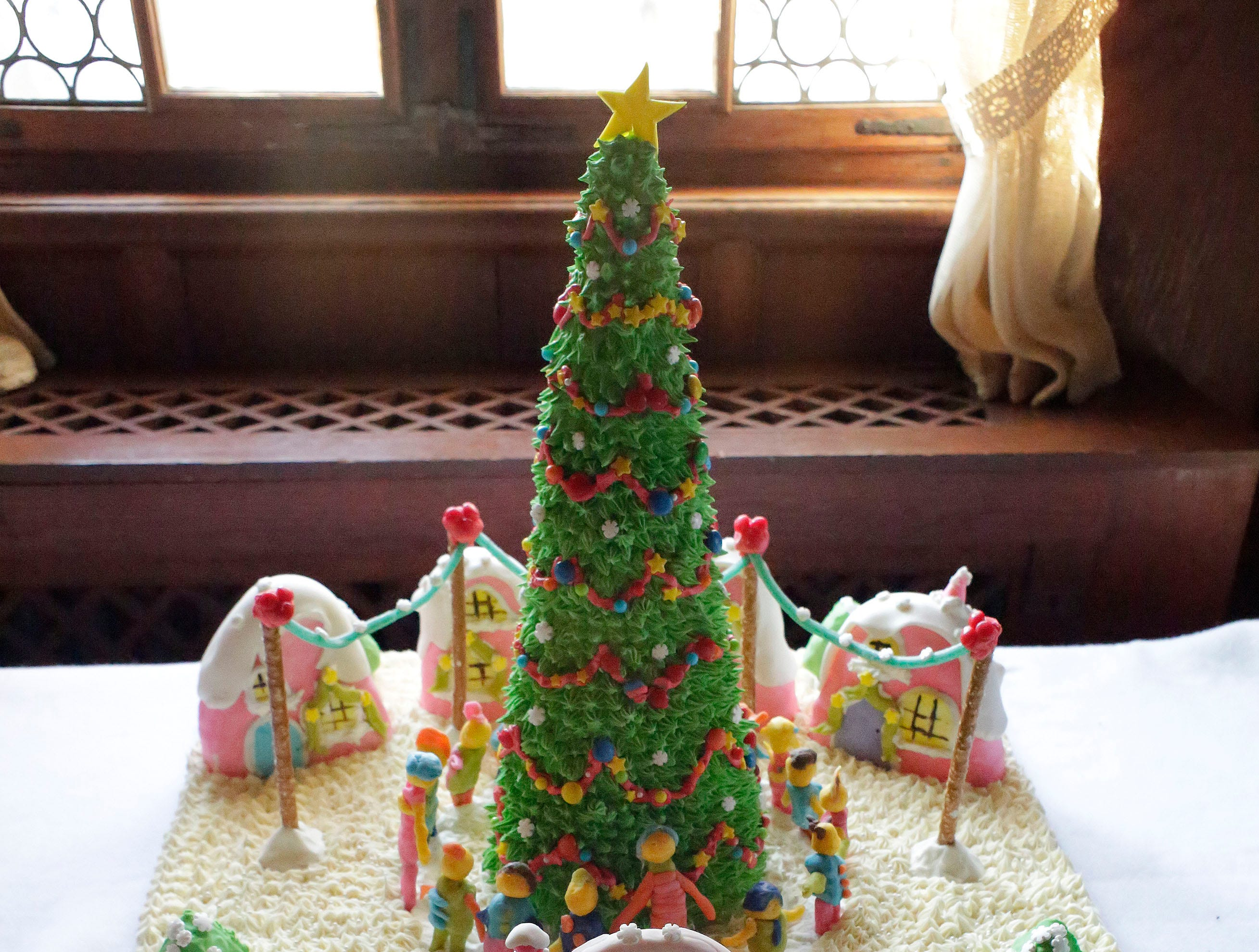 A Whoville Christmas at the annual Waelderhaus Gingerbread Festival, Saturday, December 8, 2018, in Kohler, Wis.