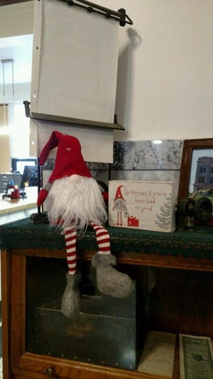 The Hand County Sheriff's Office is searching for a stolen gnome Christmas decoration, taken from the Hand County courthouse in Miller.