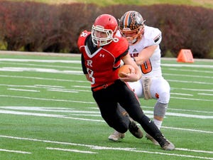 First-team Offense: Zac Smiley, So.; Riverheads —194 carries,1,654 yards,8.53ypc,28 TDs; Second team-All-Shenandoah, Region 1B Offensive Player of the Year