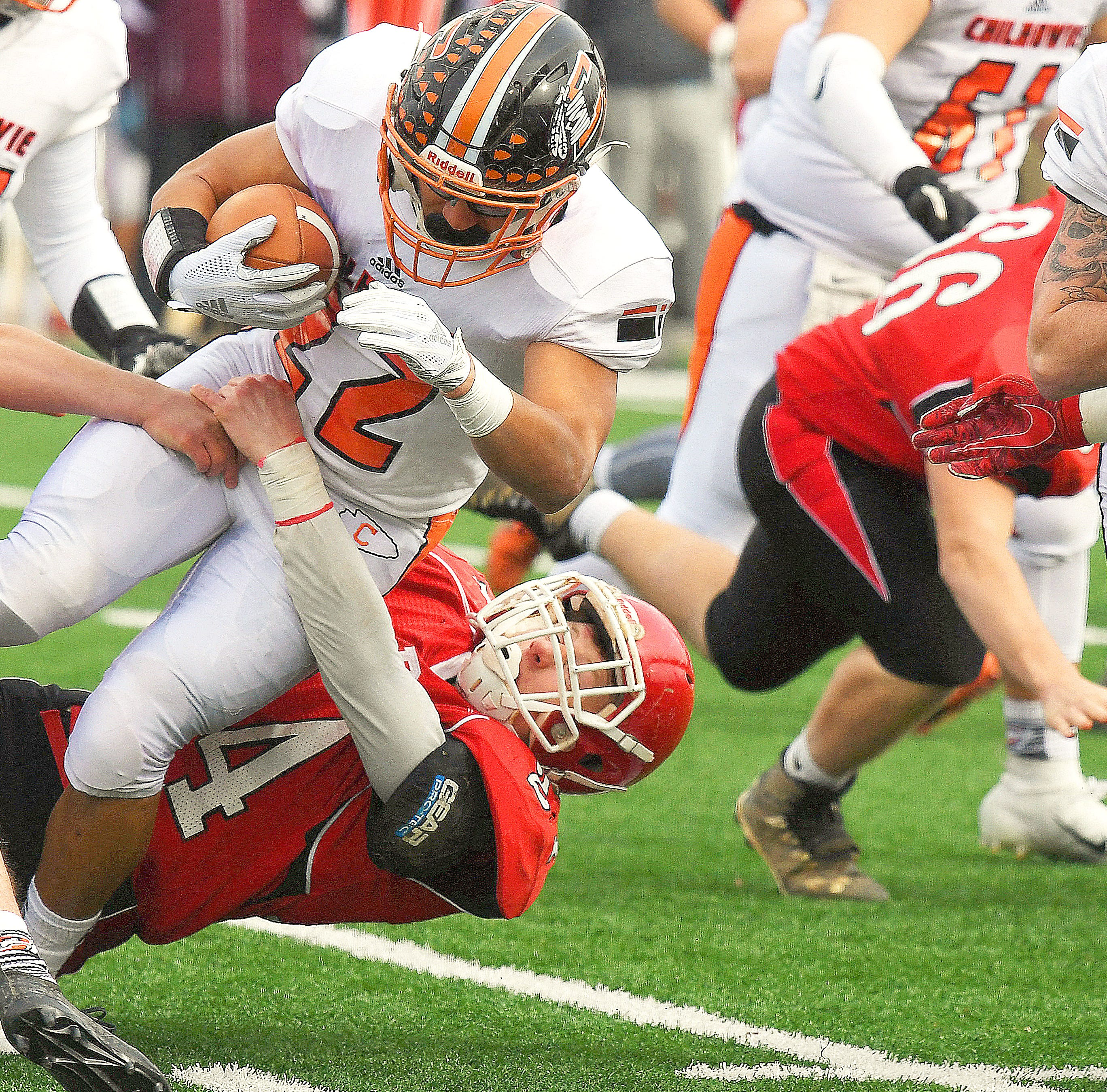 Perfect harmony: Defense leads Riverheads' hit parade in title game