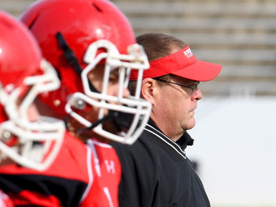 After retiring in January, Robert Casto has returned as head coach of Riverheads football.