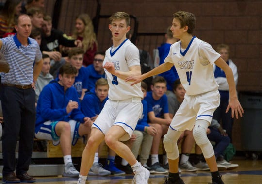 The Dixie Flyers gained ground on the Pine View Panthers with a 66-47 win over the Cedar City Redmen at The Hangar on Friday, Jan. 25.