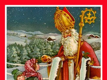 Learn the stories of St. Nick at breakfast