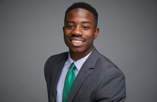 Devin Harrison, FAMU student government president for 2017-18, graduates in fall 2018 with majors in public relations and political science.