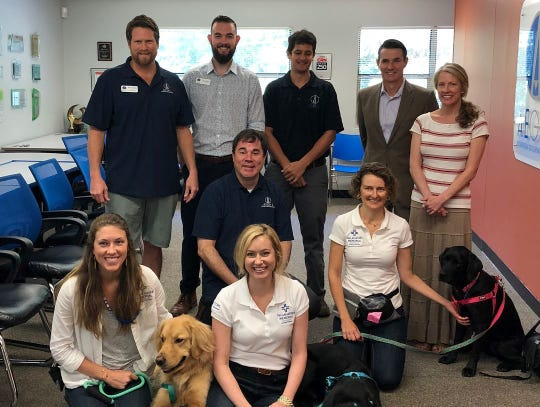 Aegis hosts the TMH Animal Therapy Team.