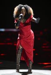 Leela James headlines a show at Minglewood Hall on Friday night.