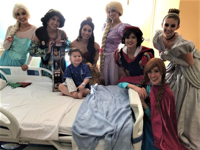 Dreams Come True Princess Parties, a family business in El Paso, will be taking donations of new princess and superhero outfits from 2 to 5 p.m. Saturday at Cielo Vista Mall near the Disney store.