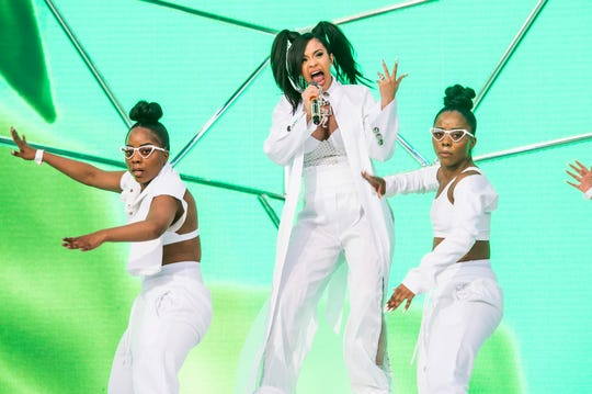 In this April 15, 2018, file photo, Cardi B performs at the Coachella Music & Arts Festival at the Empire Polo Club in Indio, Calif. A list of nominees in the top categories at the 2019 Grammys, including Kendrick Lamar, who is the leader with eight nominations, were announced Friday, Dec. 7, 2018, by the Recording Academy. Drake, Cardi B, Brandi Carlile, Childish Gambino, H.E.R., Lady Gaga, Maren Morris, SZA, Kacey Musgraves and Greta Van Fleet also scored multiple nominations.