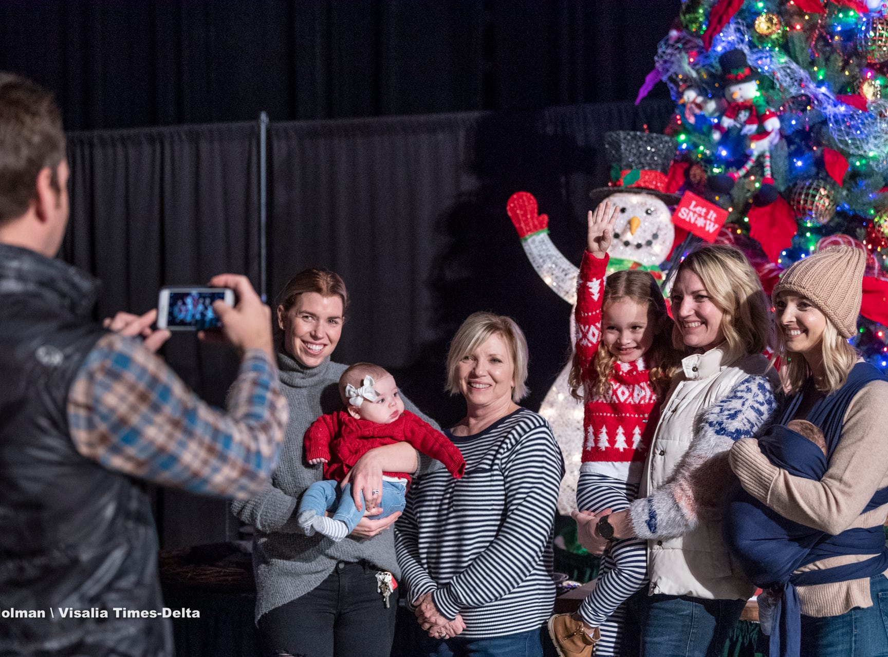 """A public preview to Visalia's 38th Annual Christmas Tree Auction on Friday, December 7, 2018. This year's theme is """"A Holiday Affair."""""""