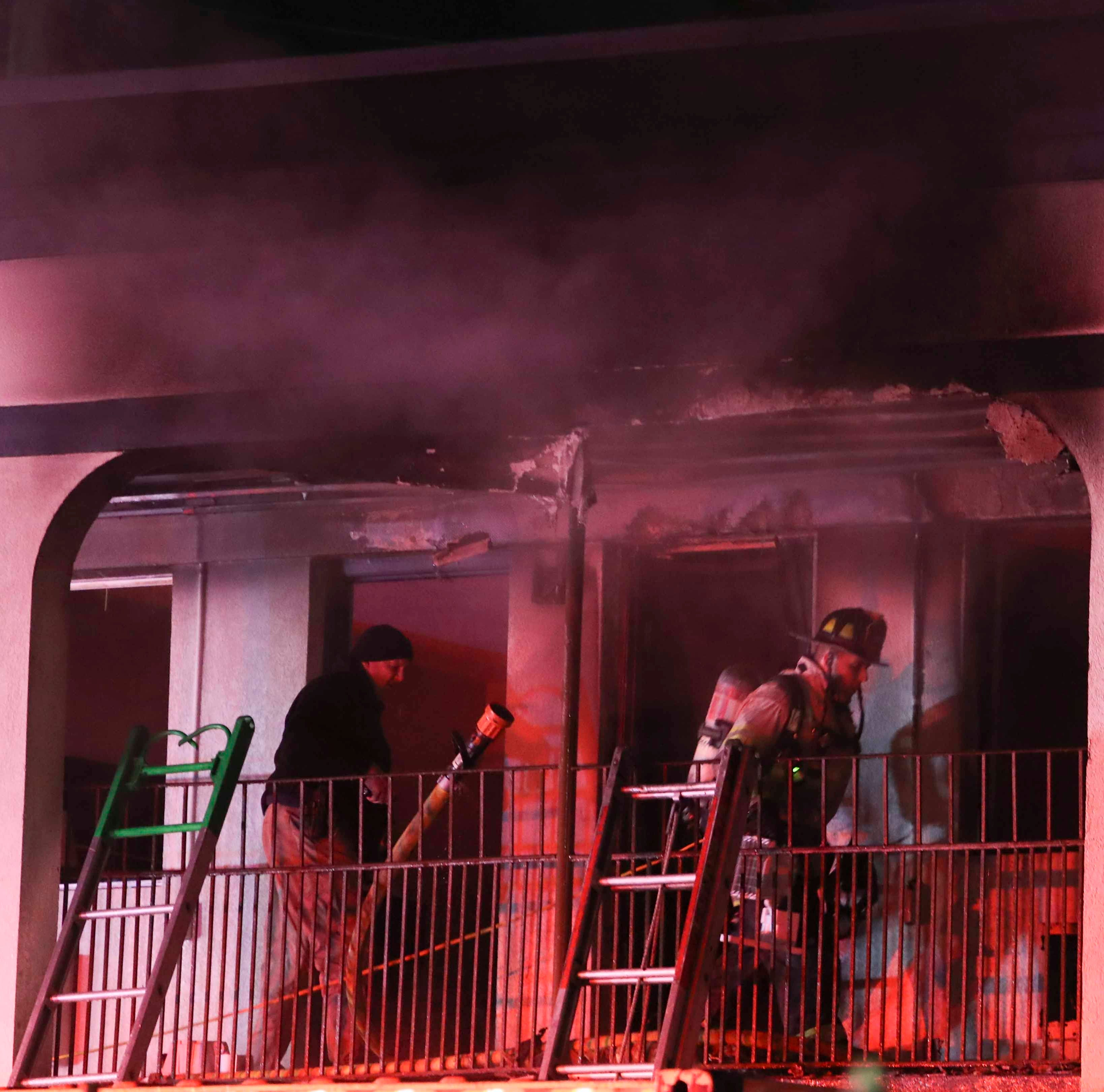 Arson charges filed in Super 8 motel fire in Newark