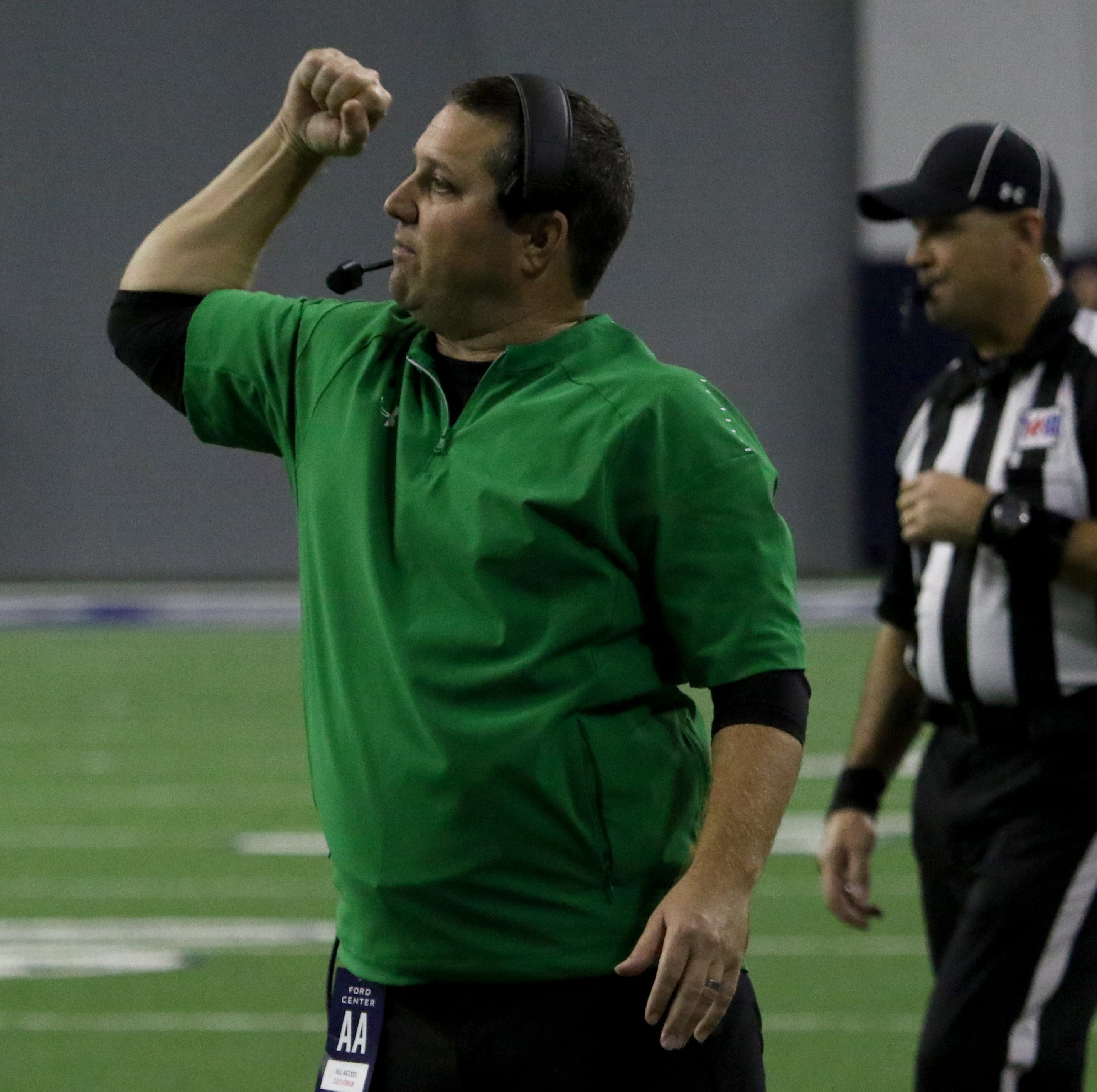 Iowa Park's defense has thrived on two-coordinator system
